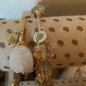 Bauble Bar bangle bracelets